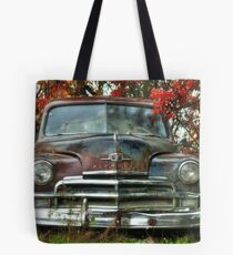Old Rusty Plymouth - Maine Tote Bag