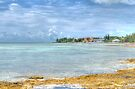Ocean view from Eastern Road at Yamacraw in Nassau, The Bahamas by Jeremy Lavender Photography