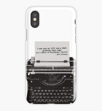 Optimistic Kerouac iPhone Case