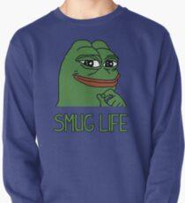 """PEPE FROG """"SMUG LIFE"""" SHIRTS + MORE Pullover"""