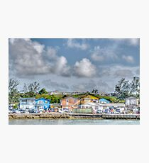 Fort Charlotte view from Arawak Cay in Nassau, The Bahamas Photographic Print
