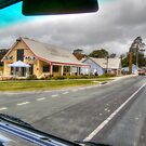 A Truck Drivers View Of  Bodalla Princess Highway by Kym Bradley