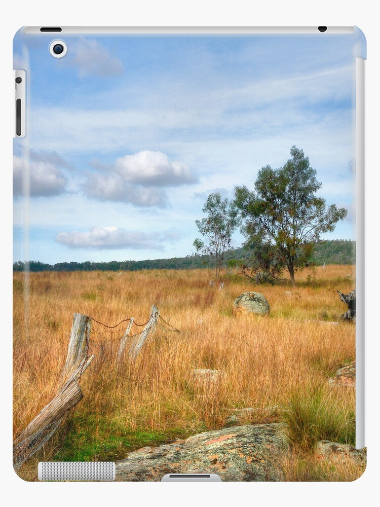 Rustic Rurality ~ iPad cover by Rosalie Dale