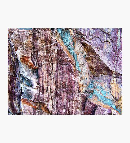 Painted in Stone Photographic Print