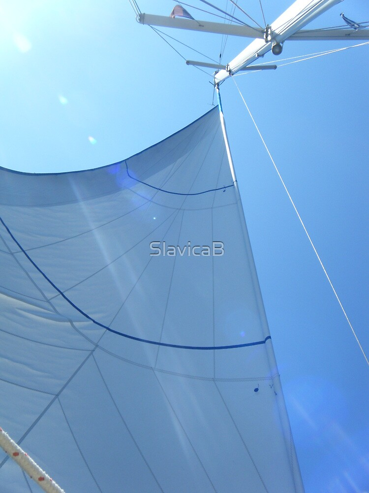 Sailboat Amel Sail in the sky 4 #photography by SlavicaB