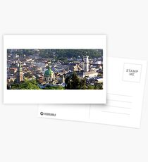sunset over lviv Postcards