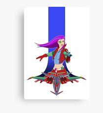 Star Warrior v2 Canvas Print