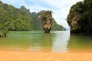Phang Nga Bay - James Bond Island - Thailand by Honor Kyne