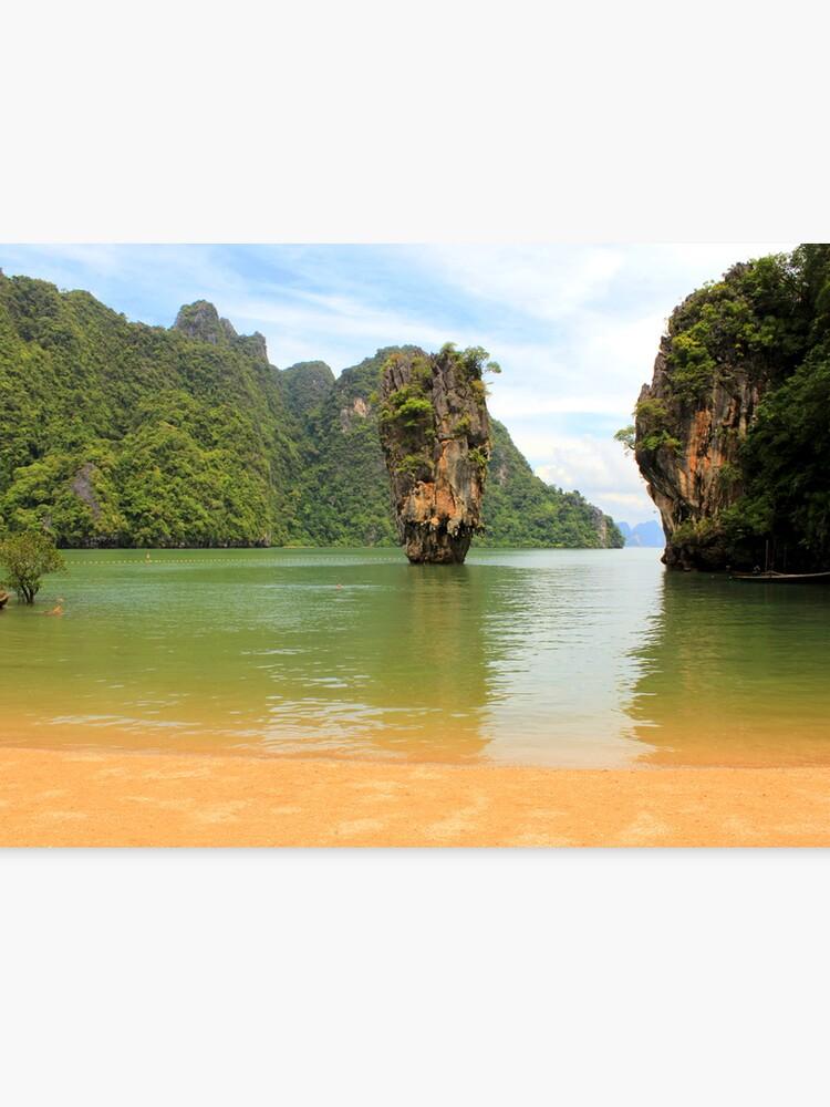 Phang Nga Bay James Bond Island Thailand Canvas Print