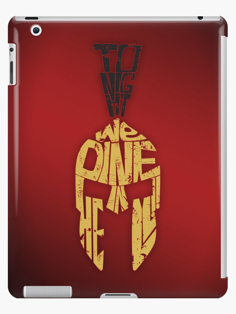Tonight we dine in HELL!! - iPad Case by D4N13L