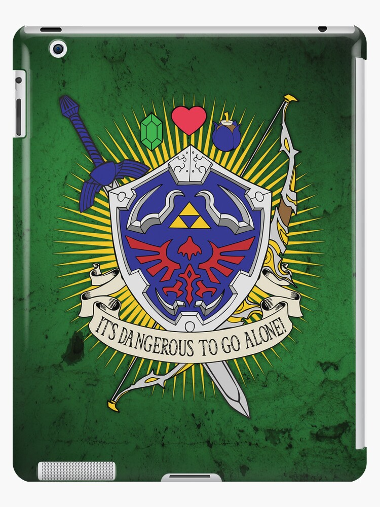 It's dangerous to go alone! - iPad Case by D4N13L