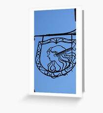 Coiffure Greeting Card