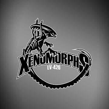 LV-426 Xenomorphs - iPad Case by D4N13L