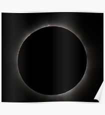 Eclipse - Cairns 2012, Prominences Poster