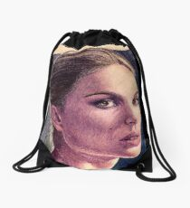 Natalie Portman Drawstring Bag