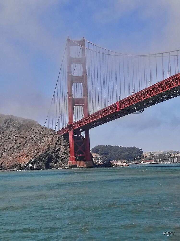 Going under the bridge by vigor