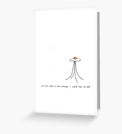 sitrus  Greeting Card