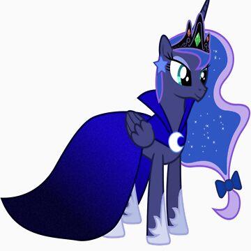 Princess Luna Gala Dress by DarthAjFox