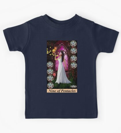 NINE OF PENTACLES Kids Clothes