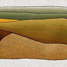 Distant Canola Crop near Smeaton #2 by Julian Newman
