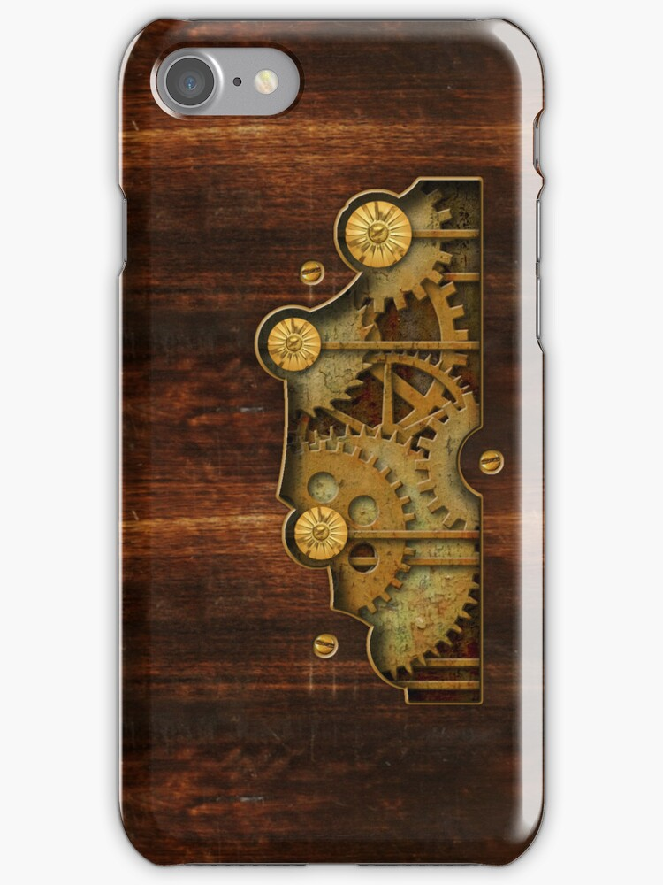 Brass and old wood Steampunk cover by Confundo