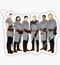 The Knights of Camelot, Merlin Sticker