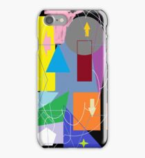 Shapes and Directions iPhone Case/Skin