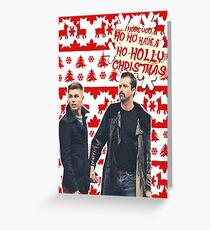 Stendan [Ho Ho Holly Xmas]] Greeting Card