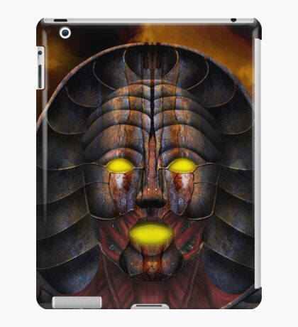 The Necromancer 001 iPad Case/Skin