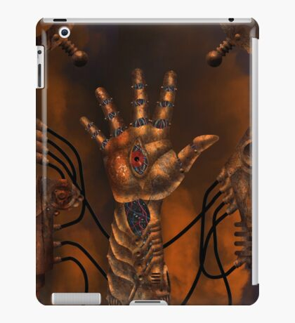 The Seer 001 iPad Case/Skin