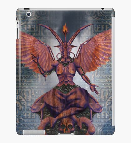 the Baphomet 001 iPad Case/Skin