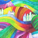 rainbow hills by hennydesigns
