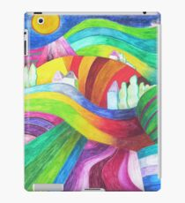 rainbow hills iPad Case/Skin