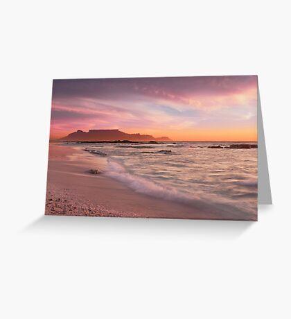 Beautiful Cape Town Greeting Card
