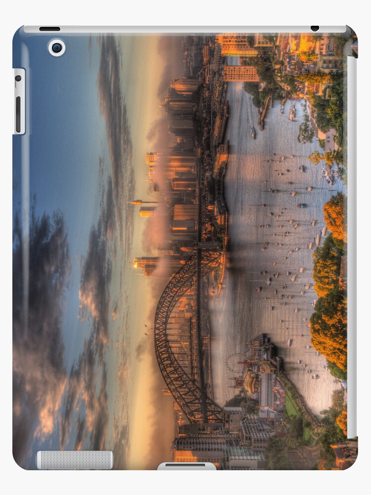 Anticipation - Moods Of A City - The HDR Experience (IPAD Case) by Philip Johnson