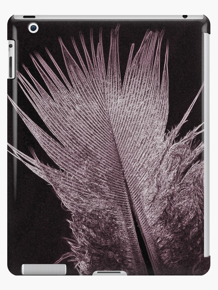 Feather Glow iPad Case by Astrid Ewing Photography