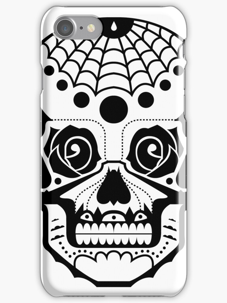 iPhone Case - Freedom Skull by fenjay