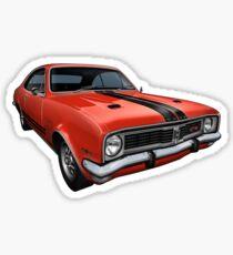 Australian Muscle Car - HT Monaro, Sebring Orange Sticker
