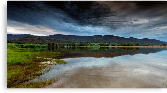 Dusk on the Lake by Mark  Lucey