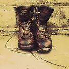 Old Boots by Barry W  King