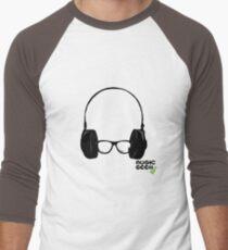 MUSIC GEEK Men's Baseball ¾ T-Shirt