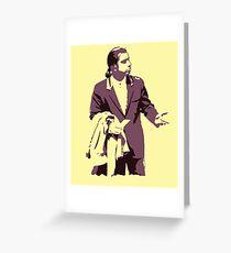 Vincent Vega 0hmm big Greeting Card