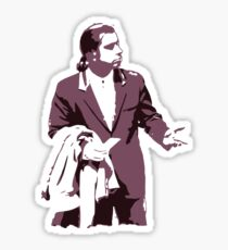 Vincent Vega 0hmm big Sticker