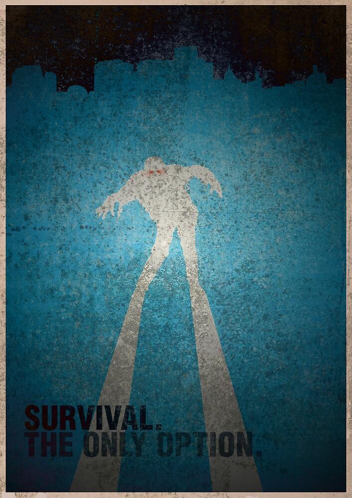 Zombie Survival. (blue) by quecreative