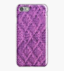 Knitted diamonds  iPhone Case/Skin