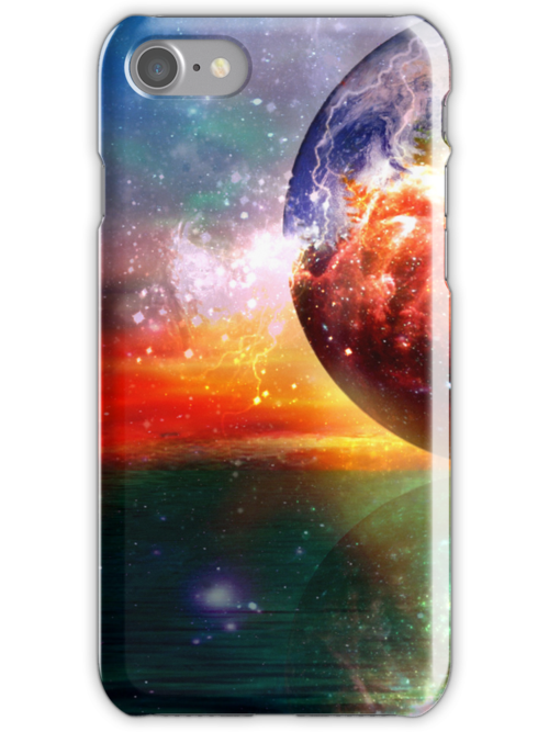 Creationist iphone case by Vanessa Barklay