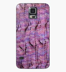 Onda Viola knitted cables and lace Case/Skin for Samsung Galaxy