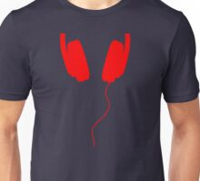 red music beats Unisex T-Shirt