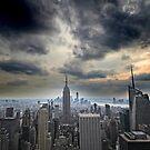 Downtown Manhattan by John Lines