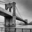 Brooklyn Bridge by John Lines